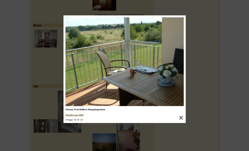 Referenz webdesign ferienwohnung meerblick insel poel for Wohnung design software