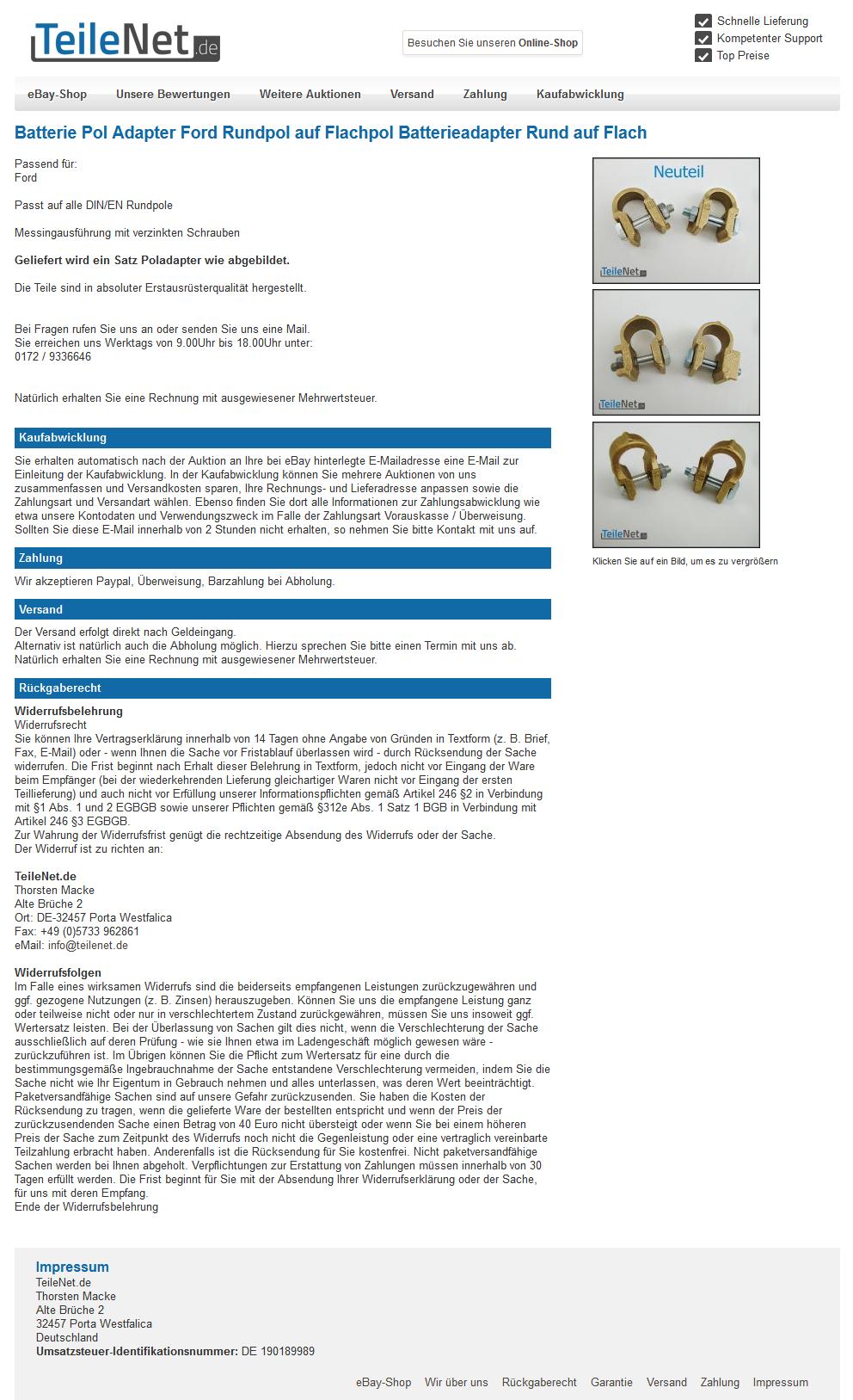 Ausgezeichnet Ebay Vorlagenersteller Galerie - Beispiel Business ...