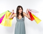 Women eCommerce shopping