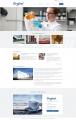 Desktop PC: Startseite, wichtigste Neuigkeiten, vorstellung des Unternehmens und der Geschäftsbereiche