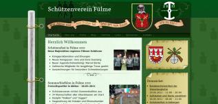 Drupal Webdesign Internetpräsenz Schützenverein Fülme