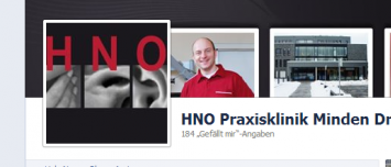 HNO Minden Facebook Social Media Design Agentur