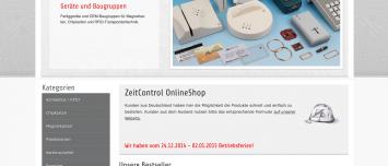 ZeitControl JTL-Shop3 Webdesign Minden, Westfalen
