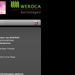 Weroca Kartonagen Webdesign Kontakt Layer