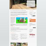 Startseite auf einem Desktop PC