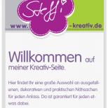 Webdesign Steffi-Kreativ.de - Smartphone Ansicht