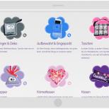 Webdesign Steffi-Kreativ.de Produkte - Tablet Landscape Ansicht