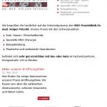 Drupal 7 Webdesign mobilgerätefähig Tablet