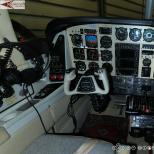 Darstellung der 360° Ansicht eines Flugzeugs auf einem PC-Monitor