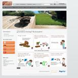 grad-decking.de - Onlineshop Realisierung