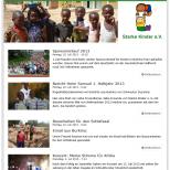 Drupal 7 CMS Webdesign: Starke Kinder e.V. Mobilgerätefähig