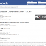 Social Media Facebook Fanpage Design Agentur