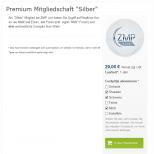 Premium-Mitgliedschaften auf ZMP Live