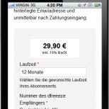 Drupal Responsive Webdesign Darstellung des Online Bestellprozesses