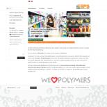 """Startseite samt """"We love polymers"""" - Animation"""