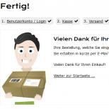 Drupal Commerce Konfigurator Onlineshop Entwicklung Checkout Finish
