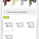 Drupal Commerce Konfigurator Onlineshop Entwicklung Konfigurator auf einem Smartphone