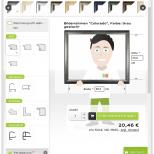 Konfigurator Tablet (hochkant) Drupal Commerce Konfigurator Onlineshop Entwicklung