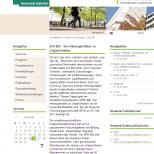 Uni Bielefeld SFB 882 - Webdesign Website Tablet Ansicht