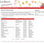 Schreibmagie bei 1001Buch.net - Drupal Onlineportal Webdesign