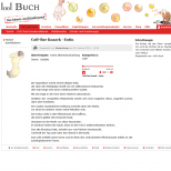 Text und Kunst bei 1001Buch.net - Drupal Onlineportal Webdesign