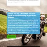 dguard.com - Startseite Smartphone A/B Testing, alternative Farbdarstellung