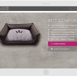 Luxus-Pfote.com: Drupal 7 Commerce Responsive Online-Shop Tablet Landscape