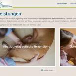 Hundephysio-Minden.de Webdesign Leistungen Bereich Desktop PC / Laptop