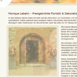 Suchmaschinenoptimierung Lebahn Floristik Wachtberg bei Köln