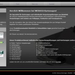 Weroca Kartonagen Suchmaschinenoptimierung (SEO)