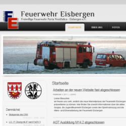Drupal CMS Webdesign Freiwillige Feuerwehr Porta Westfalica Eisbergen