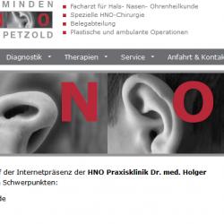 HNO-Minden.de - Drupal 7 CMS Internetauftritt Webdesign