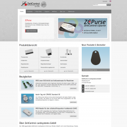 ZeitControl.de: Drupal 7 Multilanguage Web Design