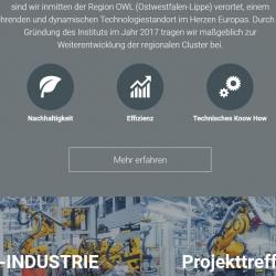 IFE Startseite Drupal CMS Webdesign