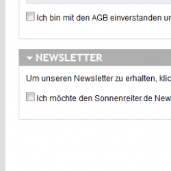 Drupal CMS Einbindung Newsletter in Checkout-Prozess