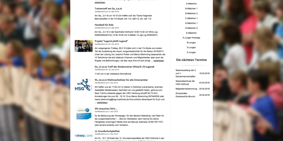 HSG-Hüllhorst.de: SEOYO Drupal 7 Responsive Web Design