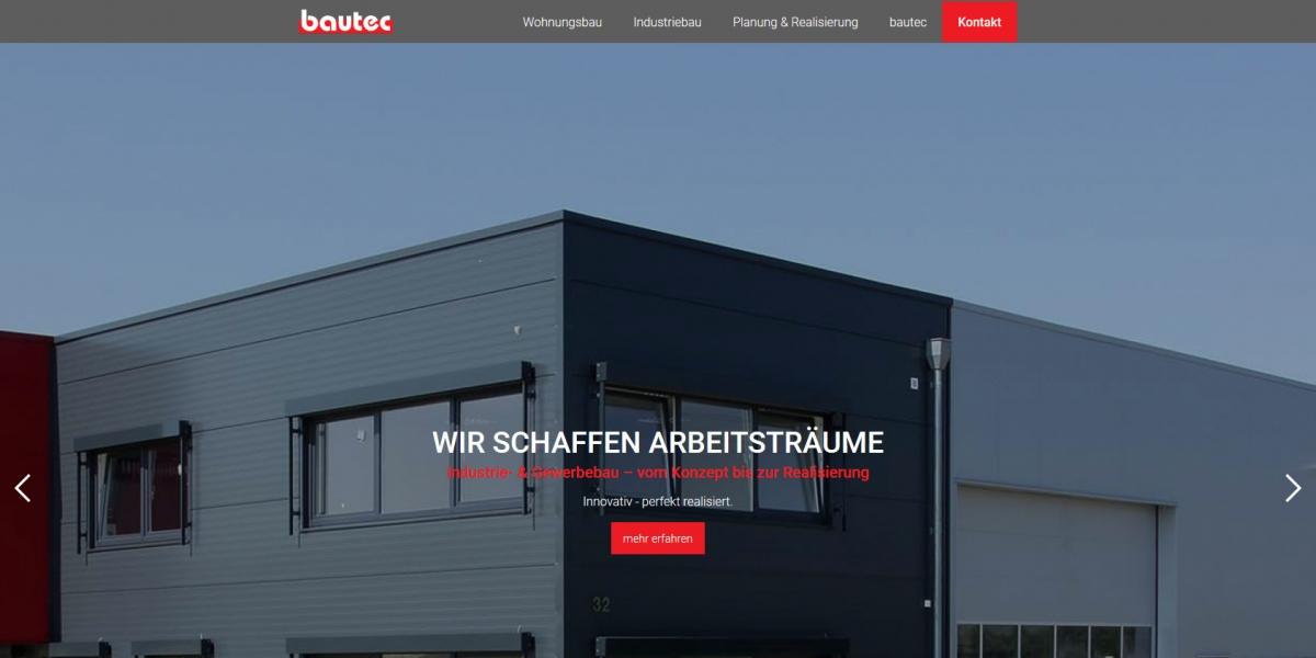 Bautec Minden Startseite