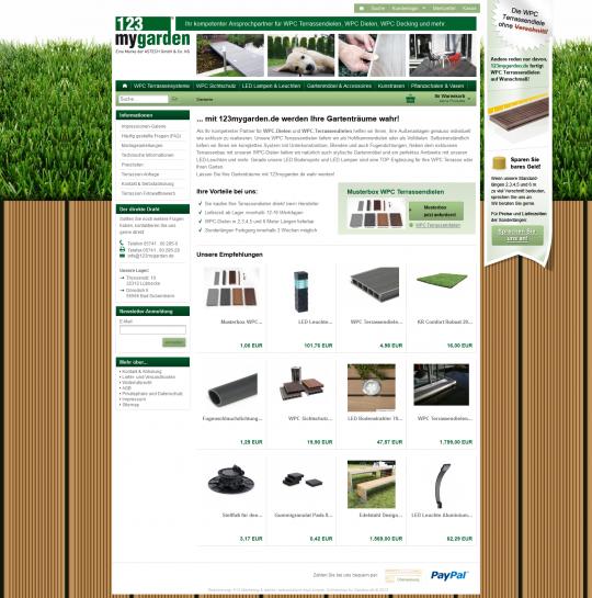 Onlineshop Webdesign Minden-Lübbecke