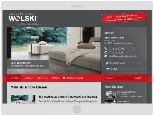 Drupal 7 Responsive Template Webdesign, mobilgerätefähig
