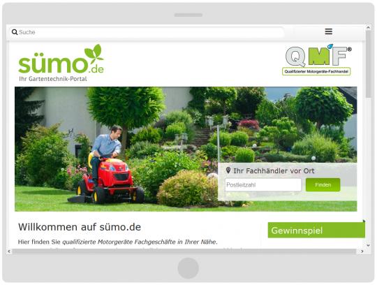 Sümo.de Tablet Landscape