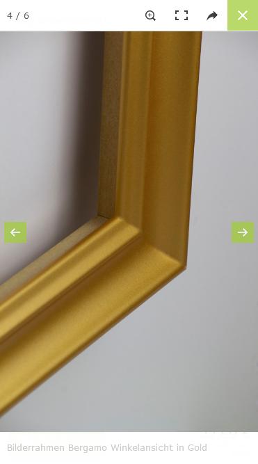 Drupal Commerce Konfigurator Onlineshop Entwicklung Konfigurator auf einem Smartphone: Beispielfotos Rahmen aus anderem Blickwinkel