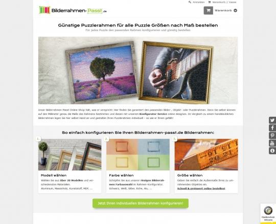 Drupal Commerce Konfigurator Onlineshop Entwicklung Konfigurator auf einem Smartphone: Themenspezifische Landingpages