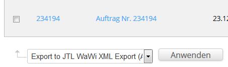 Sammel XML-Export von Bestellungen aus Drupal Commerce