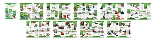 Übersicht der Katalogseiten des Drupal Modules HTML5 Blätterkatalog