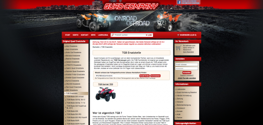 Quad-Company JTL-Shop Plugin Entwicklung Suche per Fahrgestellnummer