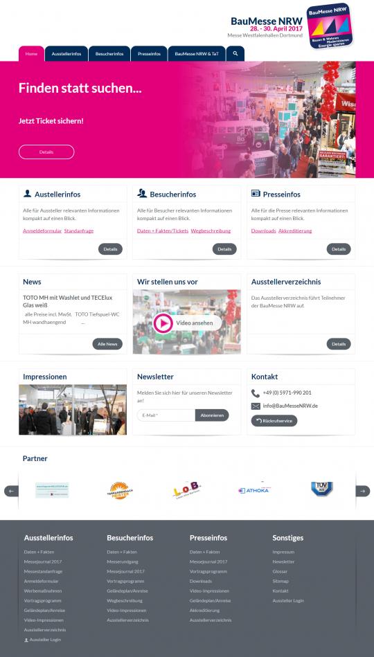 Desktop Startseite