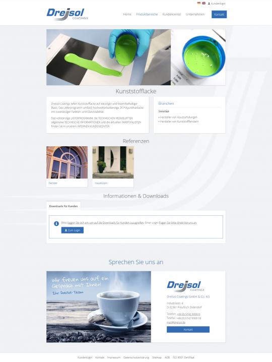 Desktop PC: Produktbereich Detailansicht