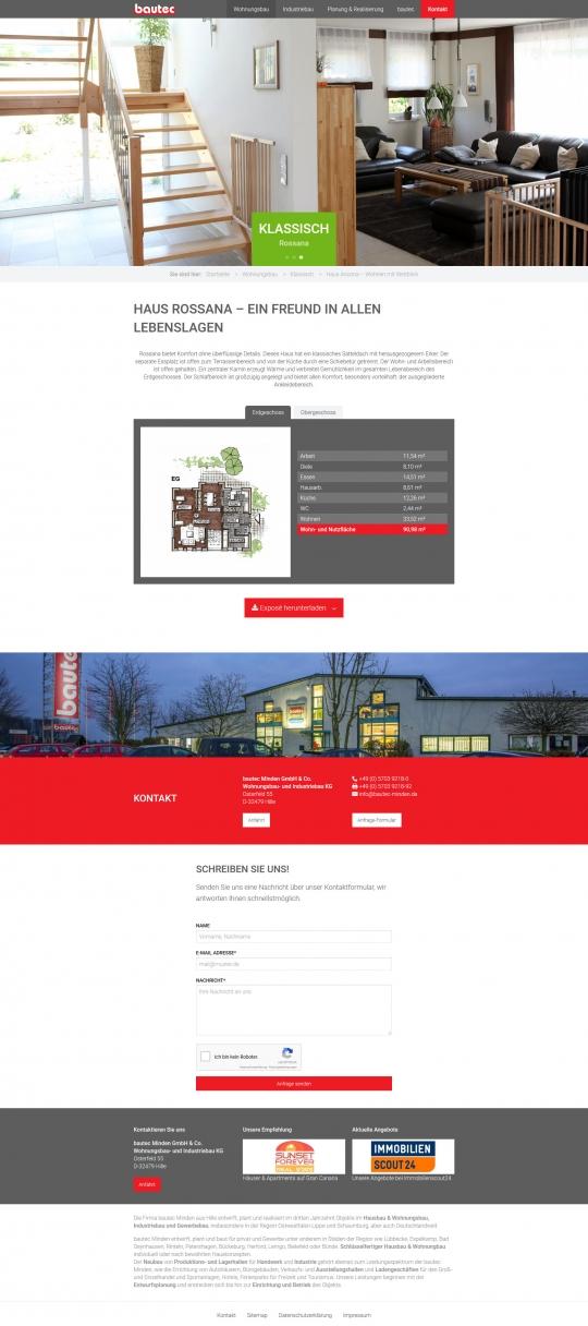 Desktop PC: Gebäude Detailansicht