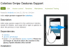 "Drupal Community-Modul Entwicklung ""Colorbox Swipe Gestures Support"""