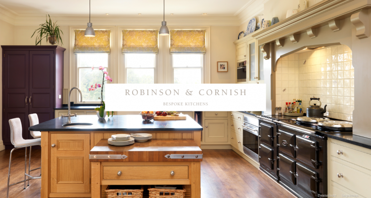 Drupal CMS Webdesign ROBINSON & CORNISH Bespoke Kitchens (Lübbecke)
